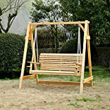 Antique Revival Melody Yard Swing, Natural