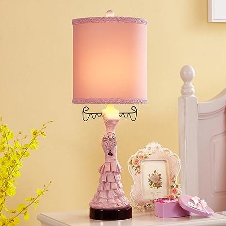 Lámpara de mesa para niños Luces de dormitorio de estilo ...