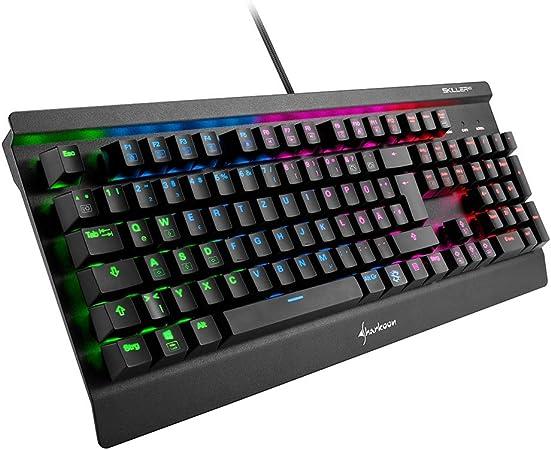 Teclado Para Gaming: Sharkoon: Amazon.es: Informática