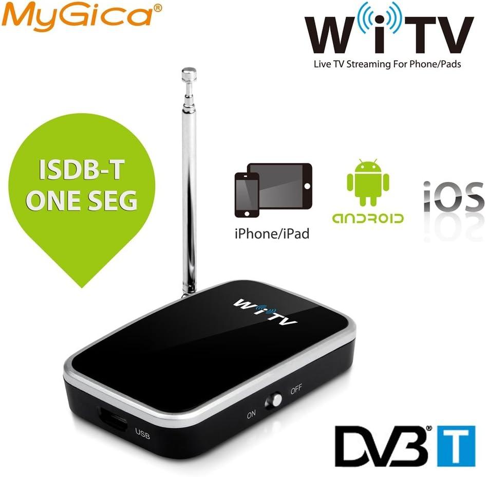MyGica® mobile Receptores de TDT sintonizador de TV inalámbrico y móvil para DVB-T -Para iPhone / iPad / Android Teléfono inteligente / tablet - reloj Digital TV (WiFi TV)