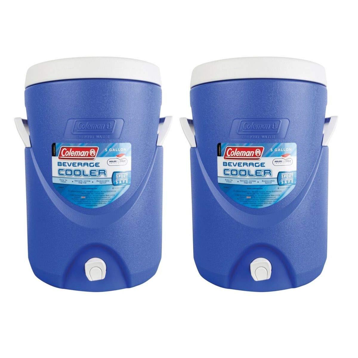 Coleman 5-Gallon Team Cooler (Blue/Set of 2) by Coleman