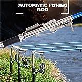 Lightweight Stainless Steel Automatic Fishing Rod Sea River Lake Fishing Pole 2.7m