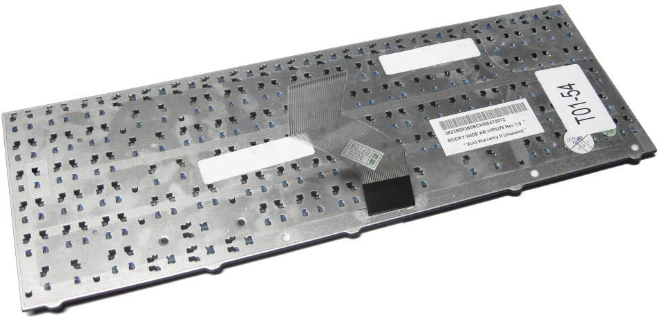 Deutsches Tastaturlayout Trade-Shop Laptop-Tastatur Notebook Keyboard Ersatz Austausch Deutsch QWERTZ ersetzt Medion V128862BK1 V128862BK2 MP-08G66D0-5282 MP-08G66D0-5285 OKNO-XV6GE11