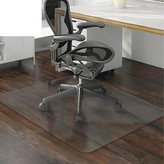 Amazon.com: OSJCYASBZ PVC Transparent mat Computer Chair mat Swivel ...