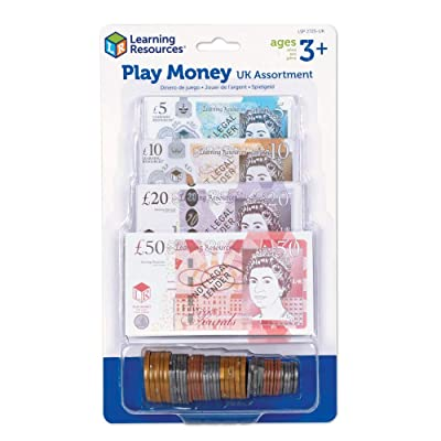 Learning Resources Play Money UK Assortment: Toys & Games