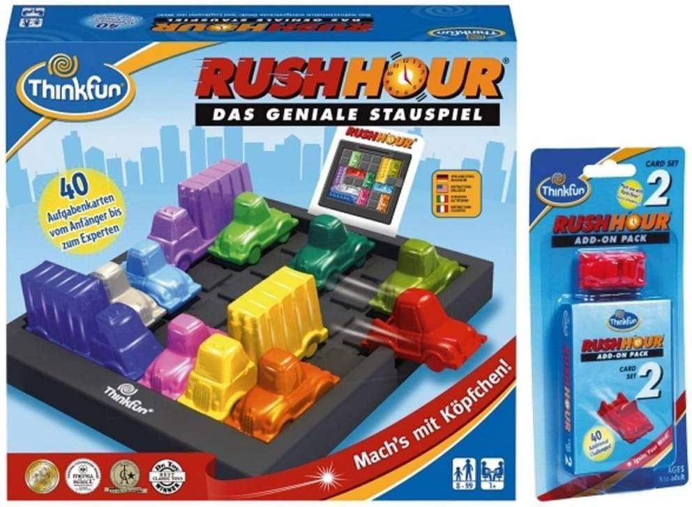 Thinkfun Rush Hour® + ampliación Bundle 763702: Amazon.es: Electrónica