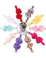 ROEWELL Baby's Headbands Girl's Cute Hair Bows Hair bands Newborn headband (10 pcs/lot)