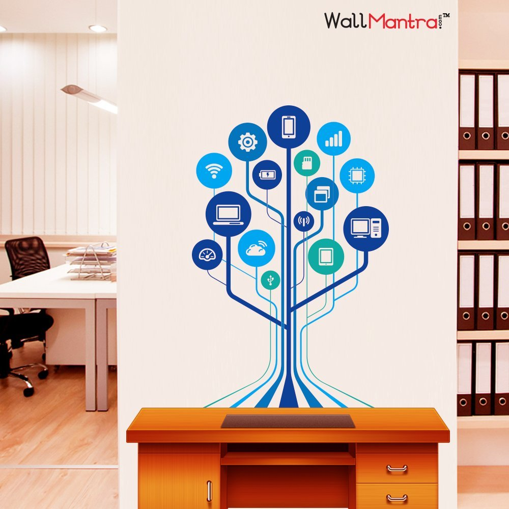 Buy Wallmantra Technology Tech Wall Sticker Online At Low Prices In