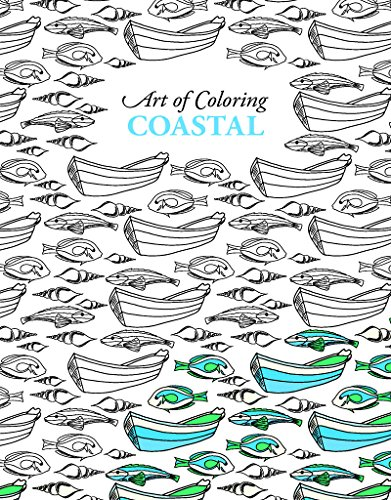Art of Coloring Coastal | Leisure Arts (6809)