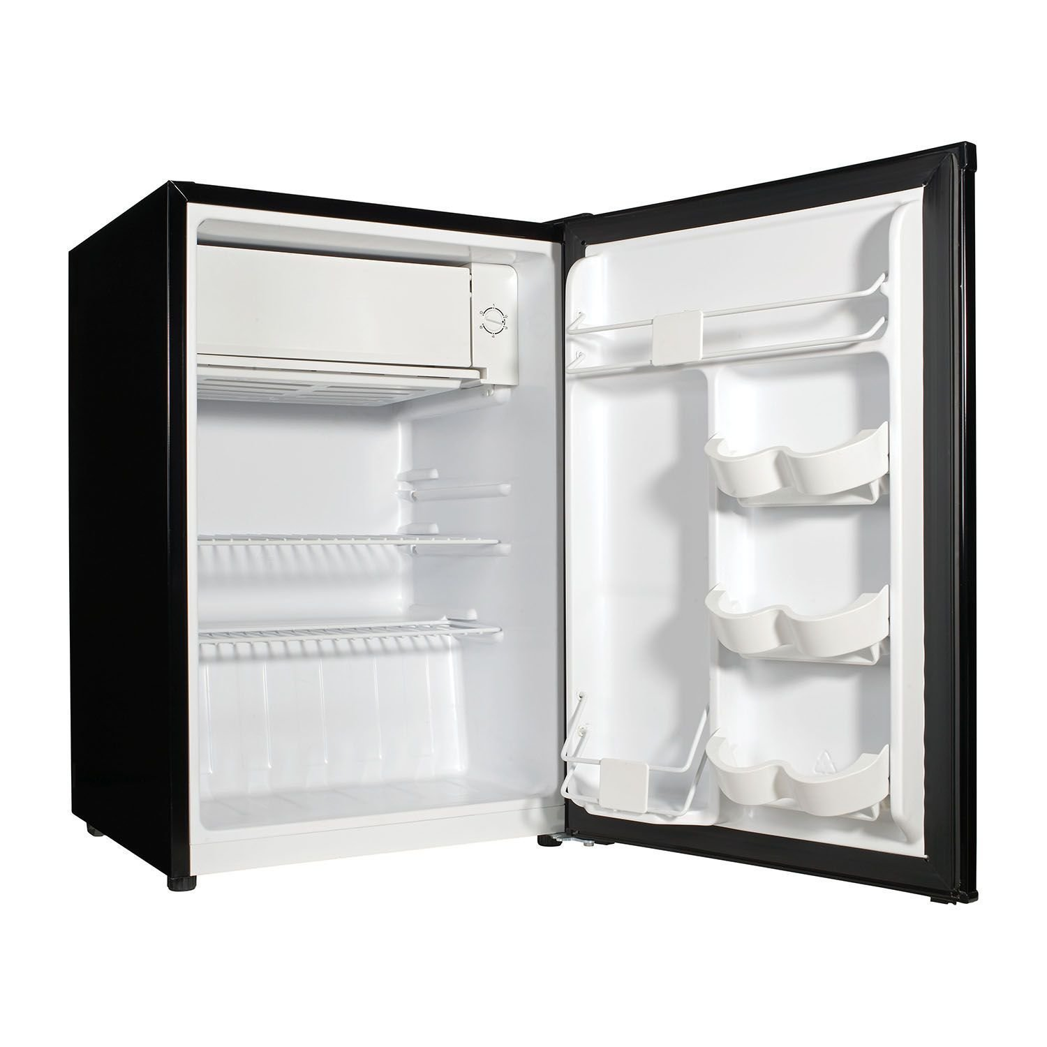 2.7 cubic foot stainless look compact dorm refrigerator by Galanz (Image #1)