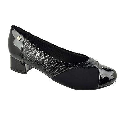 a4ec1336c6 Sapato de Salto Baixo Piccadilly Conforto Feminino  Amazon.com.br ...