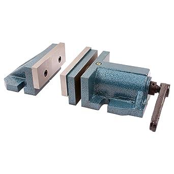 "4/"" Milling Machine Lockdown Vise R Swiveling Base HFS"