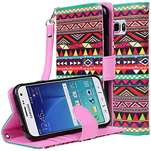 Galaxy S7 Active Case, E LV Galaxy S7 Active Case Cover - Flip Folio Full Body Protection for Samsung Galaxy S7 Active - [TRIBAL] Sales