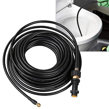 200bar D/üse starr 25m Rohrreinigungsschlauch inkl geeignet f/ür Hochdruckreiniger 60/°C von McFilter