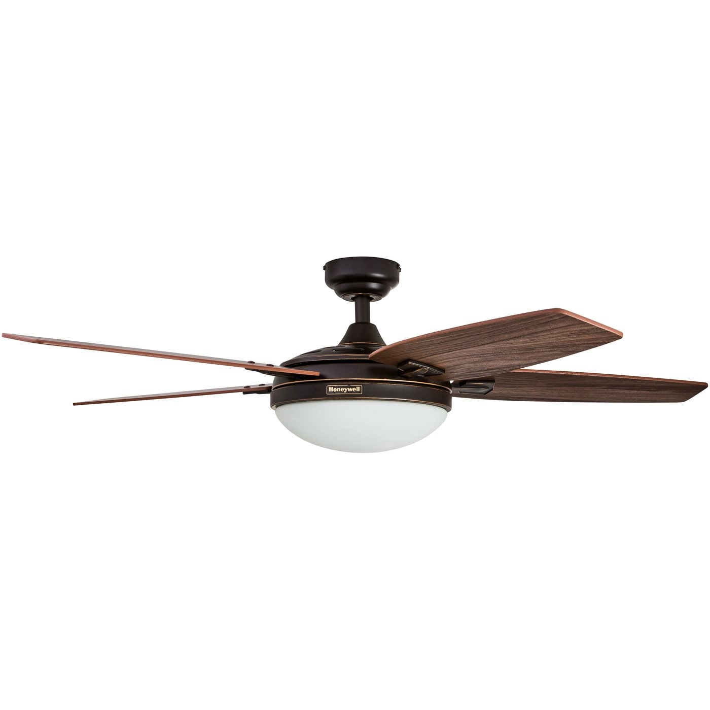 Honeywell Duvall 52-Inch Tropical Ceiling Fan, Five Wet Rated Wicker Blades, Indoor/Outdoor, White by Honeywell Ceiling Fans (Image #10)