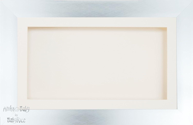 Amazon.de: BabyRice Bilderrahmen, groß, für Fotos á 33 x 18 cm, Holz ...