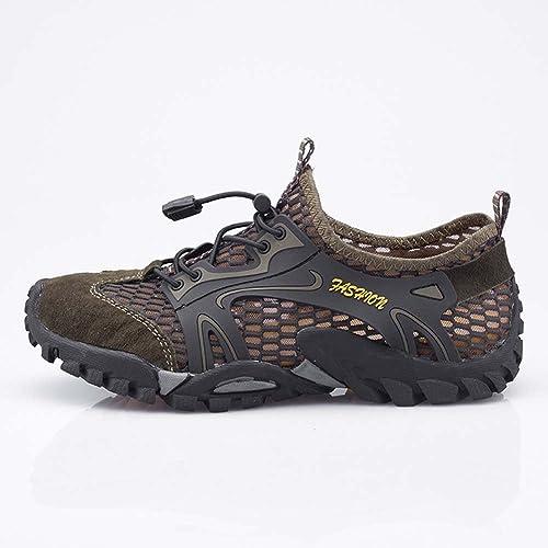 Zapatos de Agua para Hombres Zapatos de Playa de Secado Rápido Zapatillas de Deporte Descalzo y Transpirable Aqua para Nadar en la Piscina Surf para ...