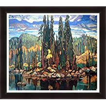 Arthur Lismer Textured Limited Editn Giclee Group Of Seven Print Isles Of Spruce
