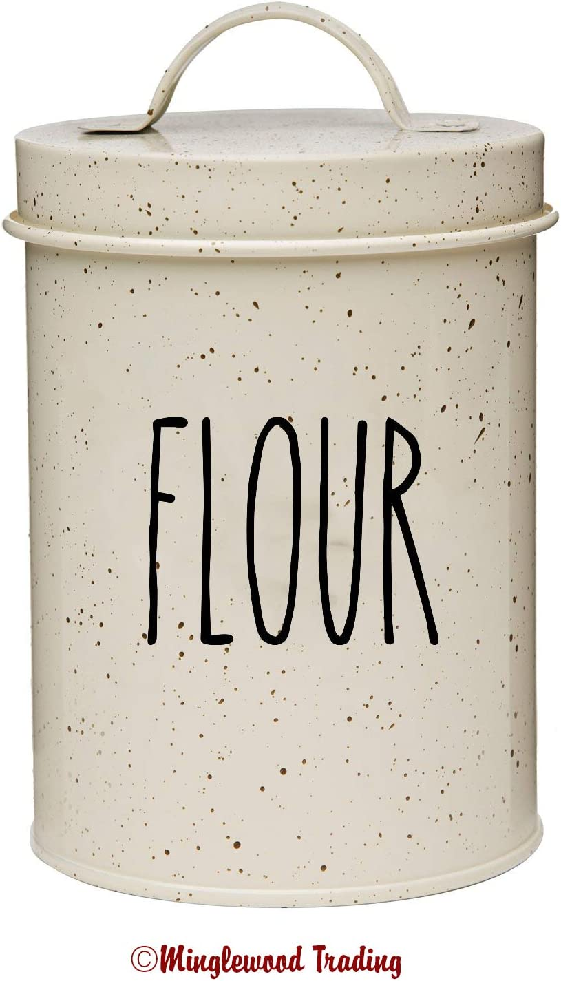 DIY Jar//Container Label Rae Dunn Style Skinny Font BREAD Vinyl Decal Sticker