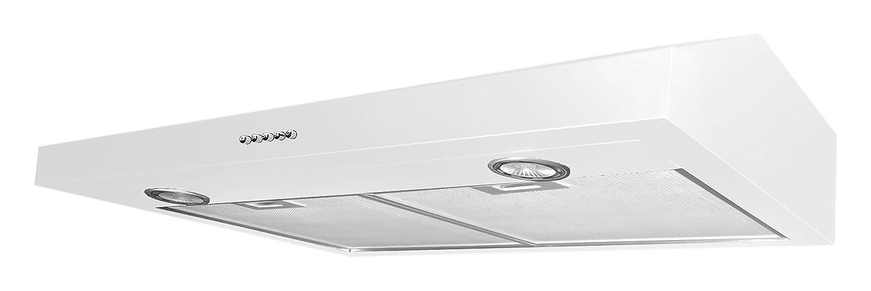 Ancona Stainless Steel Slim 5-Inch High 300 CFM 4-Speeds Under Cabinet Range Hood, 30-Inch AN-1203