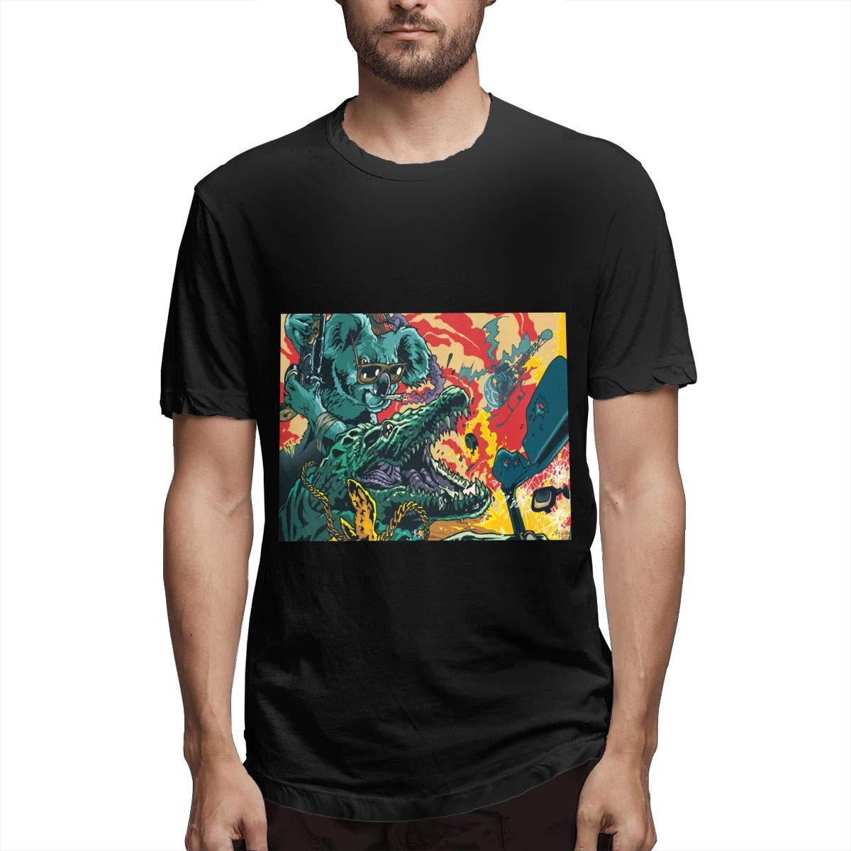 Lihehen Mans Run The Jewels Simple Casual Round Neck T Shirts