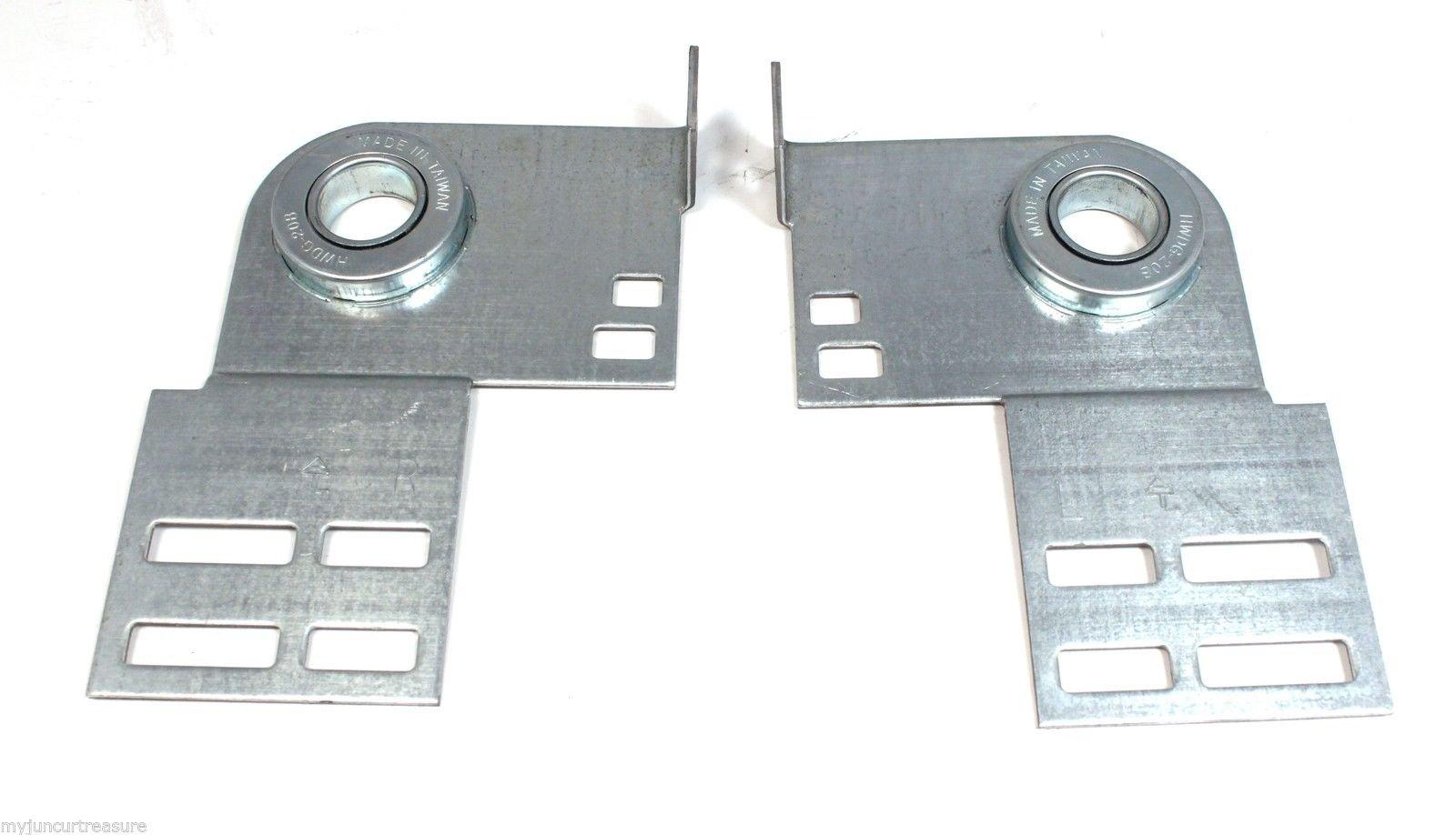 Garage Door End Bearing Plates (Pair)