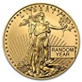 1986 - Present 1/2 oz Gold American Eagle BU (Random Year) 1/2 OZ Brilliant Uncirculated