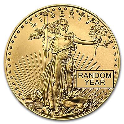 1986 - Present 1/2 oz Gold American Eagle BU (Random Year) 1/2 OZ Brilliant Uncirculated