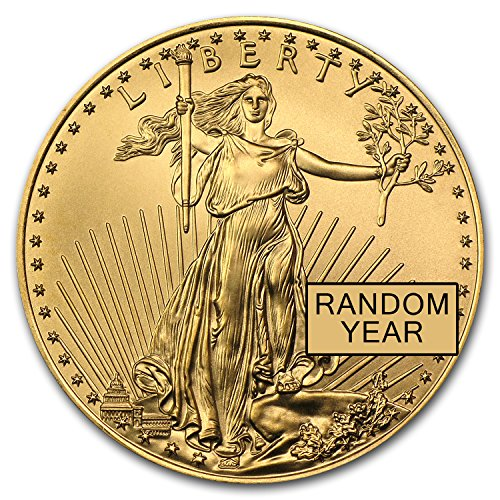 1986 - Present 1/2 oz Gold American Eagle BU (Random for sale  Delivered anywhere in USA