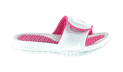 ceea1517db39 Jordan Hydro 2 (PS) Little Kids Slide Sandals White Vivid Pink 429531-