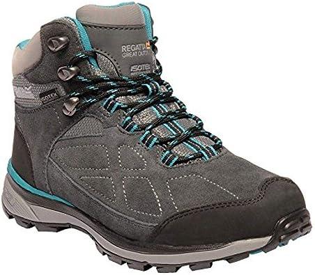 Regatta Womens//Ladies Samaris Mid Waterproof Seam Sealed Walking Boots