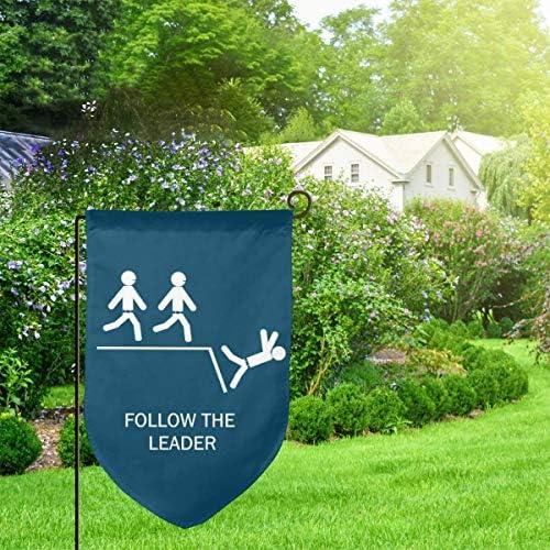 "Details about  /Blue Three-headed Dragon Garden Flag House Banner Linen Yard Banner 12X18/"""
