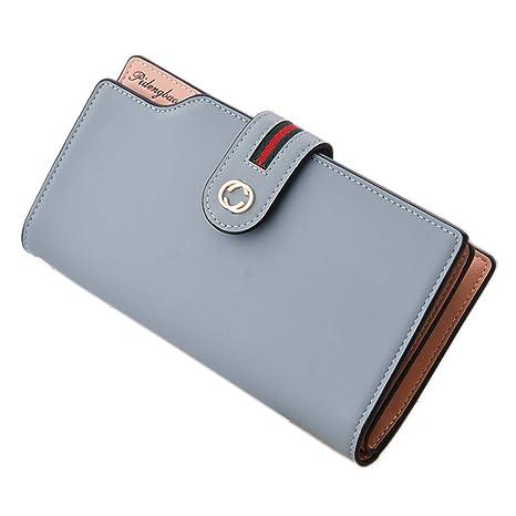 NEKOYA® Portafoglio Donna di pelle PU con porta moneta e rimovibile porta  carte per carte 53d352649d1