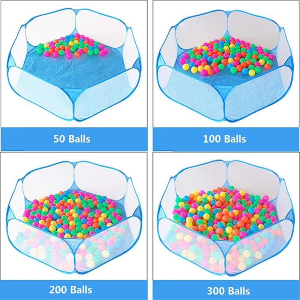 loikero123 Nouvelle Piscine de Balle de Gaze Pliable Joue b/éb/é Infantile Puzzle /éducatif Jouets Barri/ères de lit