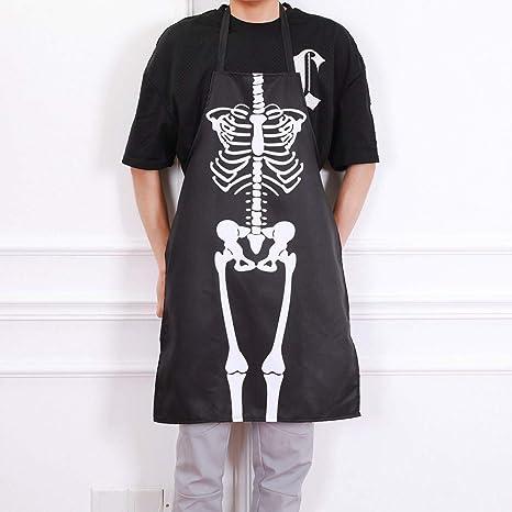 TAOtTAO - Delantal para Disfraz de Halloween, 1 Pieza: Amazon.es ...
