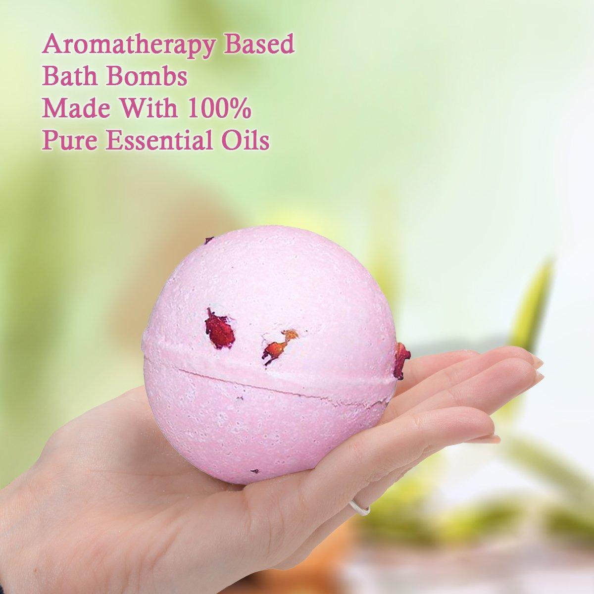 Aromaterapia Set Regalo Bomba Da Bagno, taglia: 3 gigante ...