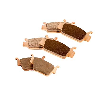 Race Driven Front & Rear Severe Duty Brake Pads for Honda Rincon Fourtrax 680 TRX680 FA GA FGA: Automotive