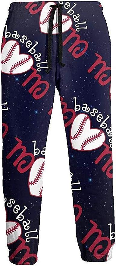 Emild Pantalones de chándal para Hombre Béisbol Mamá Joggers ...
