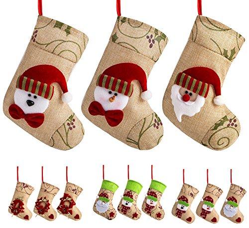 Santa Mini Stocking (SANNO 7.5