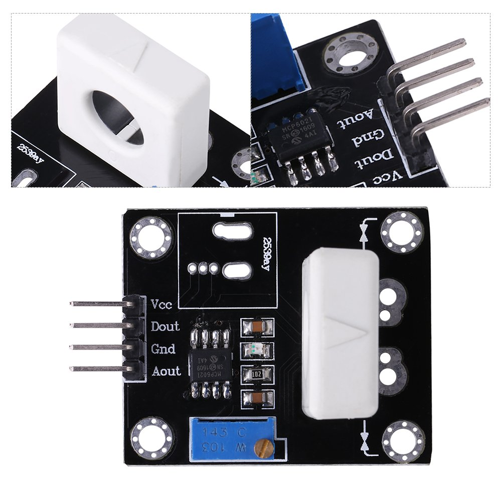 Hall Current Sensor Wcs1800 35a Short Circuit Overcurrent Relay Over Protection Module Industrial Scientific