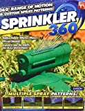 Rotating Sprinkler 360 – Water Entire Lawn And Garden Without Oscillating Systems Waste – 100% Satisfaction guaranteed – Enjoy! Review