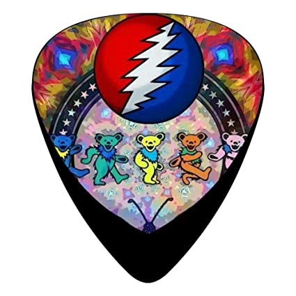 Amazon.com: Grateful-Dead Guitar Picks 12-Pack Celluloid ...