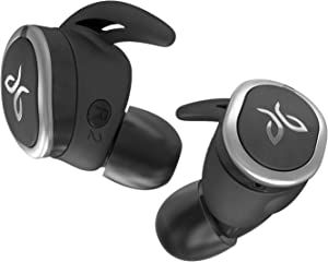 Jaybird RUN True Wireless Headphones for Running, Secure Fit, Sweat-Proof and Water Resistant, Custom Sound, 12 Hours In Your Pocket, Music + Calls (Jet)