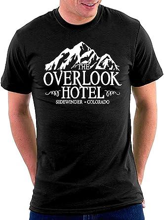 wwoman Shining Overlook Hotel Camiseta básica Cuello Redondo ...