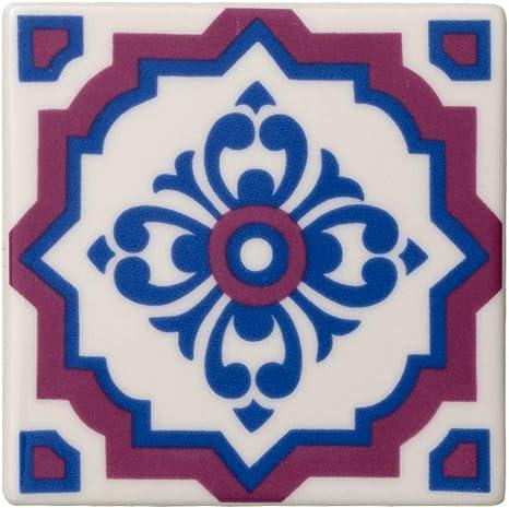 Villeroy & Boch Table Accessories Posavasos, 2 Piezas, Porcelana, Azul (Indigo Caro): Amazon.es: Hogar