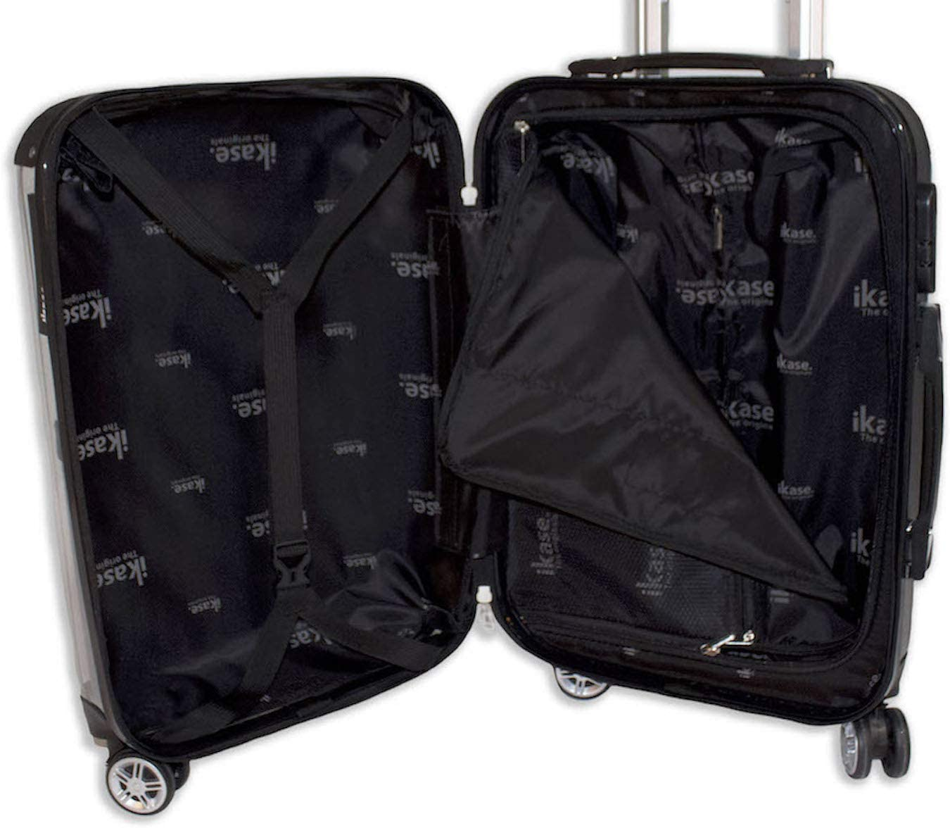 Big Bang Theory,Hardside suitcase,Spinner,Upright Luggage