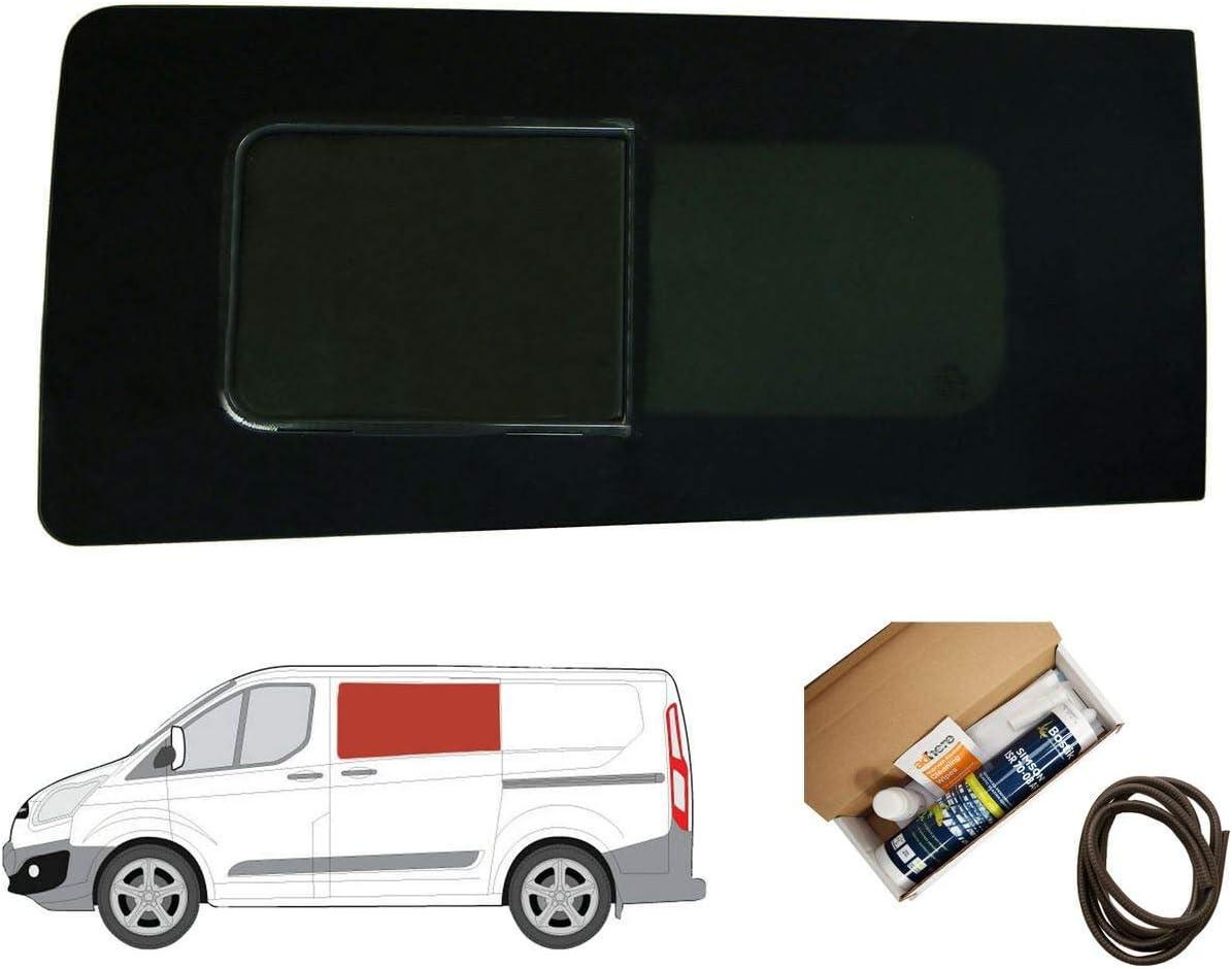 Mano izquierda ventana abatible para puerta corredera, tintado oscuro Kit Ford Transit Custom: Amazon.es: Coche y moto