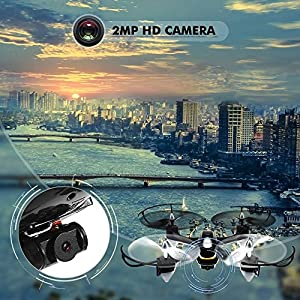 Quadcopter With Camera,EACHINE E33C Drone Remote Control Quadcopter Headless Mode RTF Mode2 by EACHINE