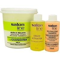 Creme Relaxante Salon Line Guanidina Tradicional Mild 215g