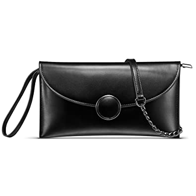 5df391710e2 CHITUMA (New Fashion) Women s Luxury Genuine Leather Classical Evening  Party Clutch Bag Shoulder Bag